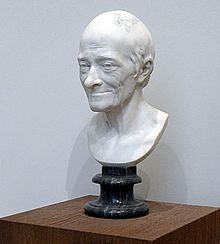 Voltaire by Houdon (Musée Angers)