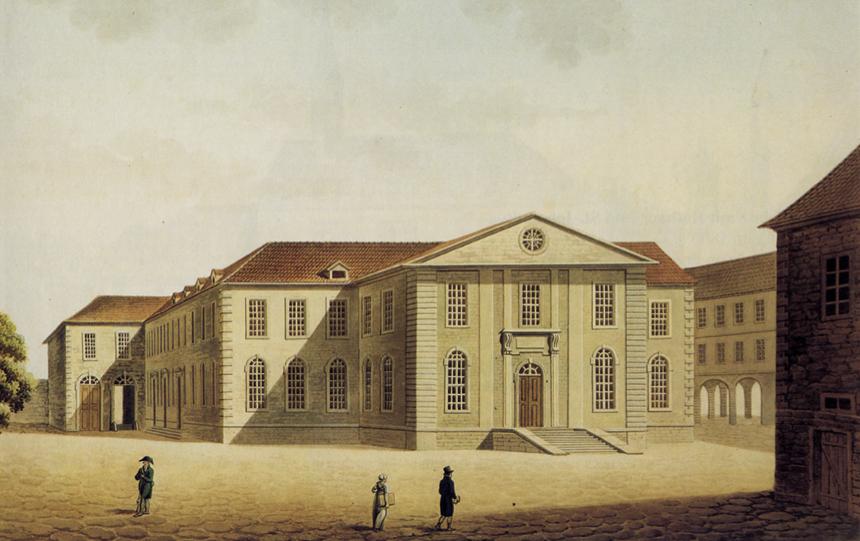 University library at Göttingen