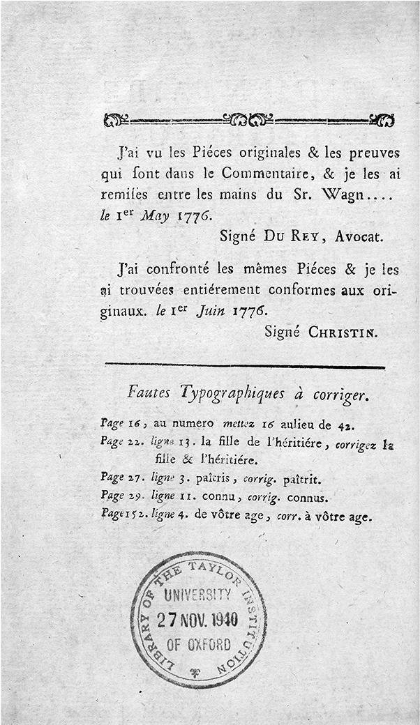 Voltaire, Commentaire historique