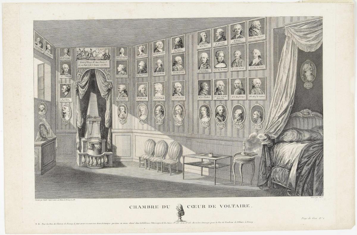 Chambre du cœur de Voltaire