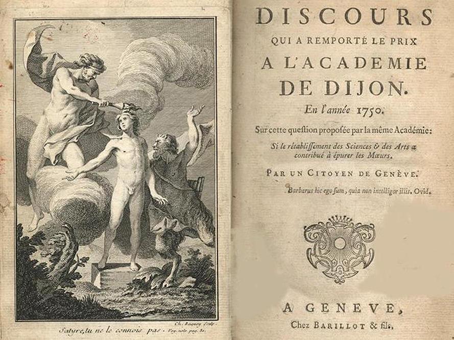 Rousseau's Premier Discours