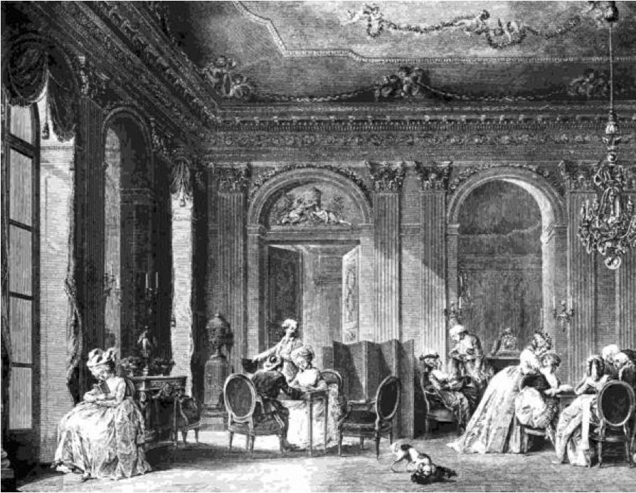 A French salon