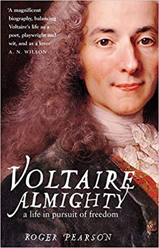 Five books about Voltaire