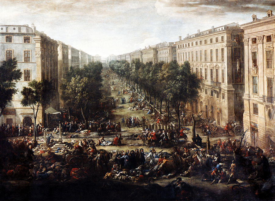 the Great Plague of Provence