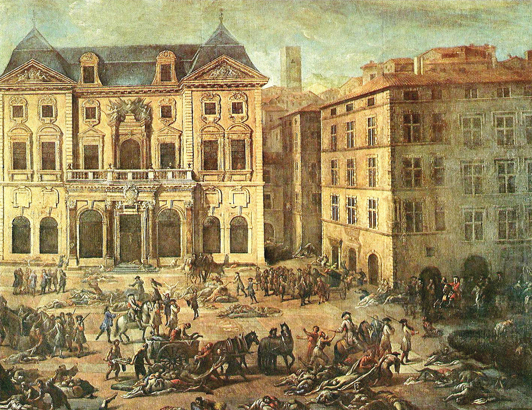 the plague in Marseille