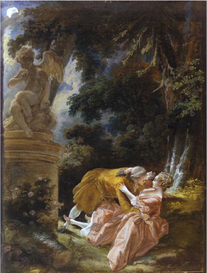 Pierre-Antoine Baudouin, Les Heures du jour: La nuit