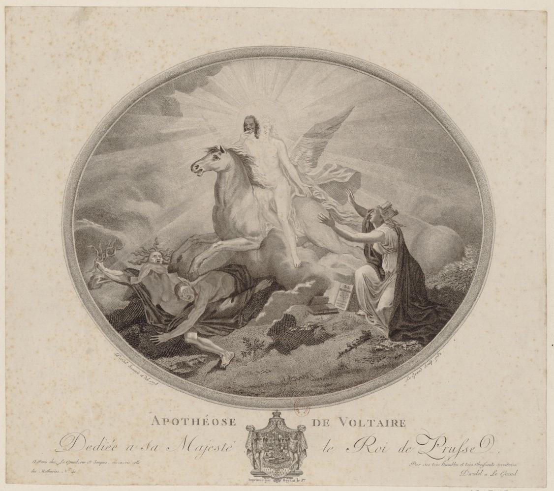 Apothéose de Voltaire