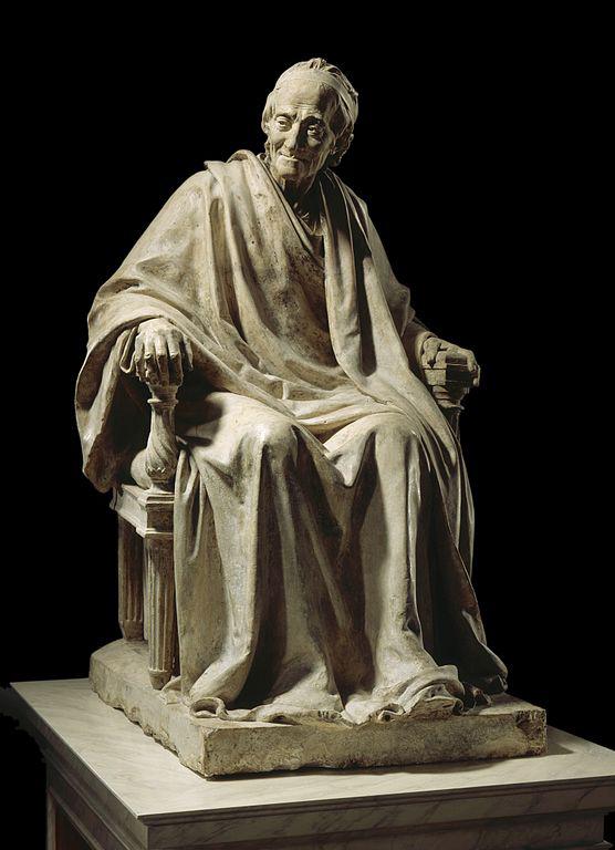 Voltaire assis, par J.A. Houdon