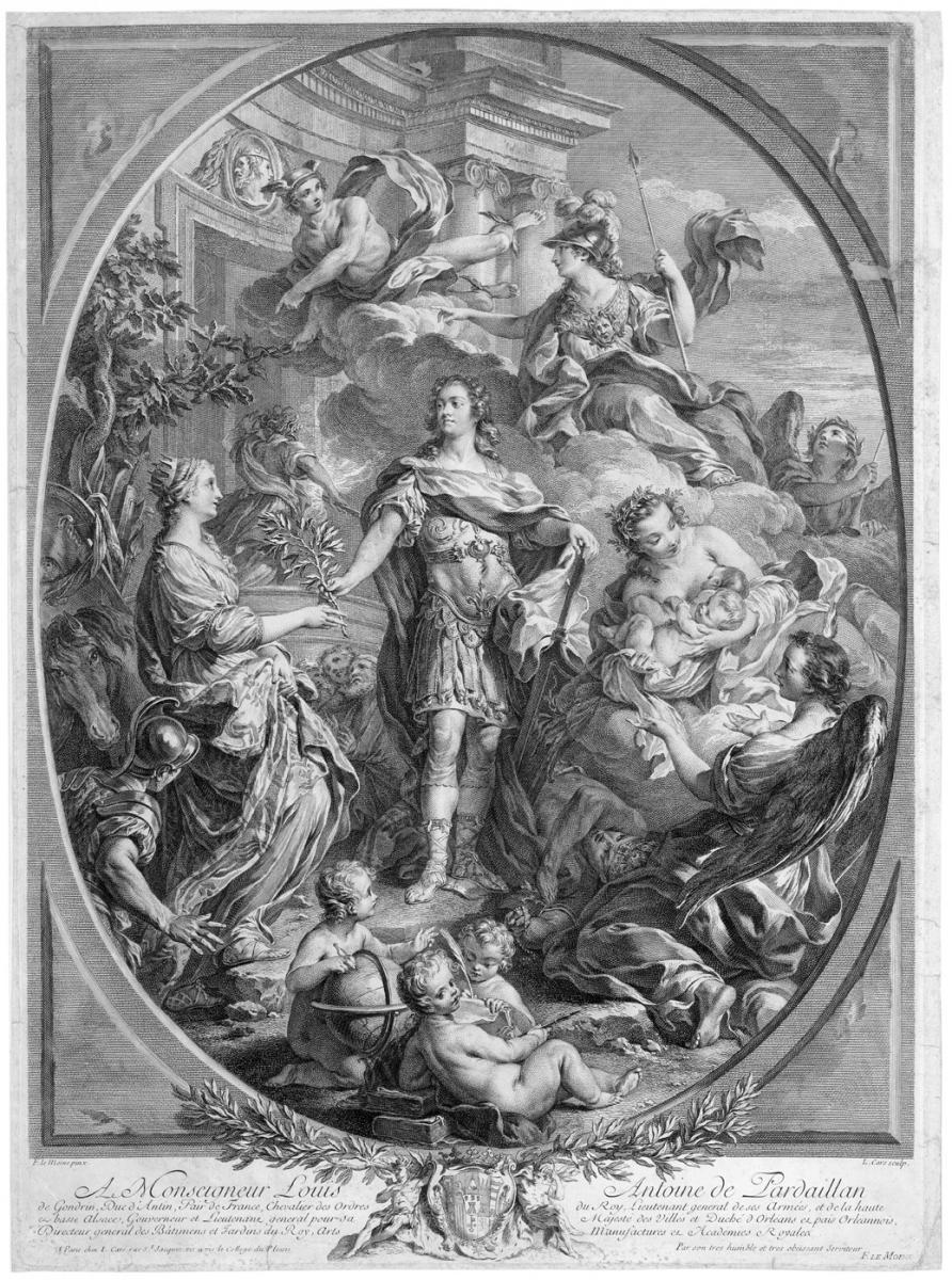 Louis XV donnant la paix à l'Europe