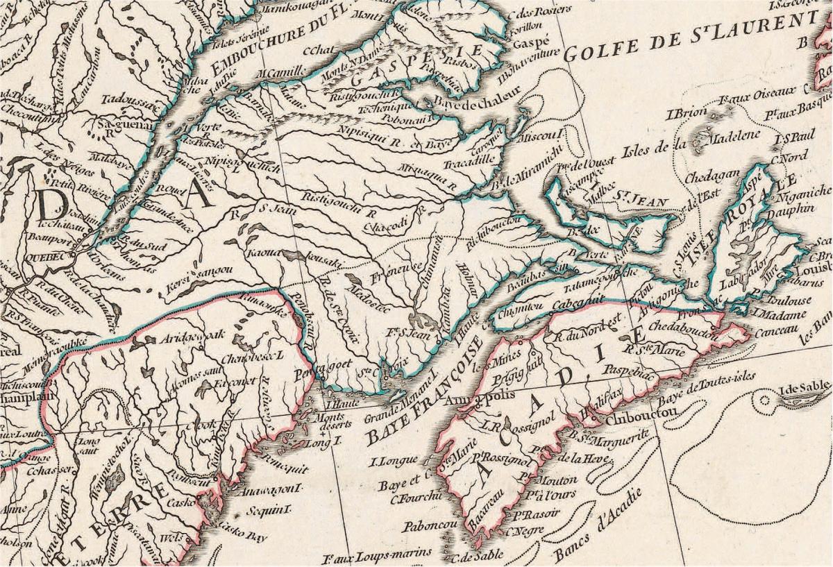 Jean-Baptiste d'Anville, 'Amérique septentrionale'