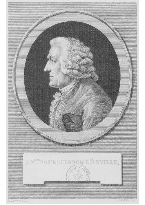 Portrait de Jean-Baptiste d'Anville