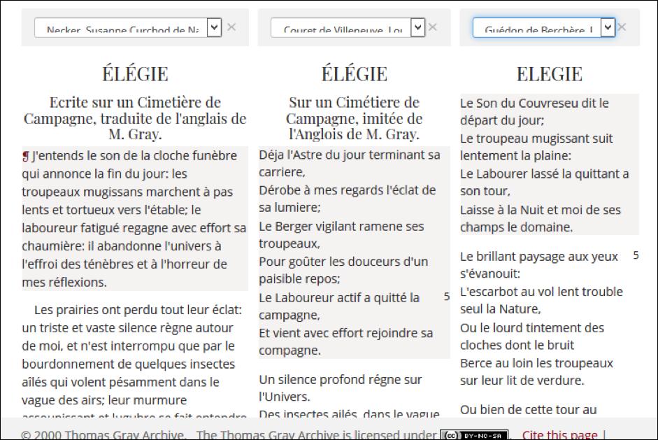 Multilingual digital editions