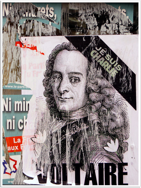 Voltaire et Charlie Hebdo