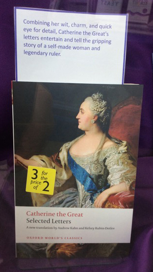 Catherine the Great's Selected Letters