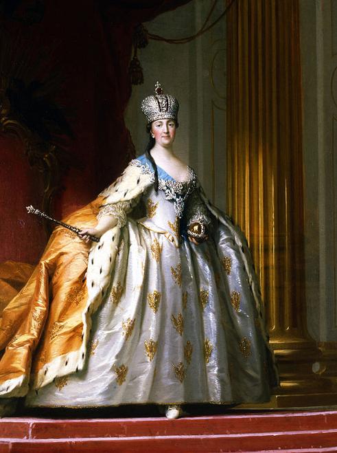 Catherine the Great's coronation, by Vigilius Eriksen