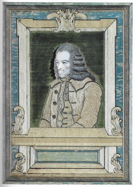 Voltaire, par Jean Huber et Andrienne Cannac