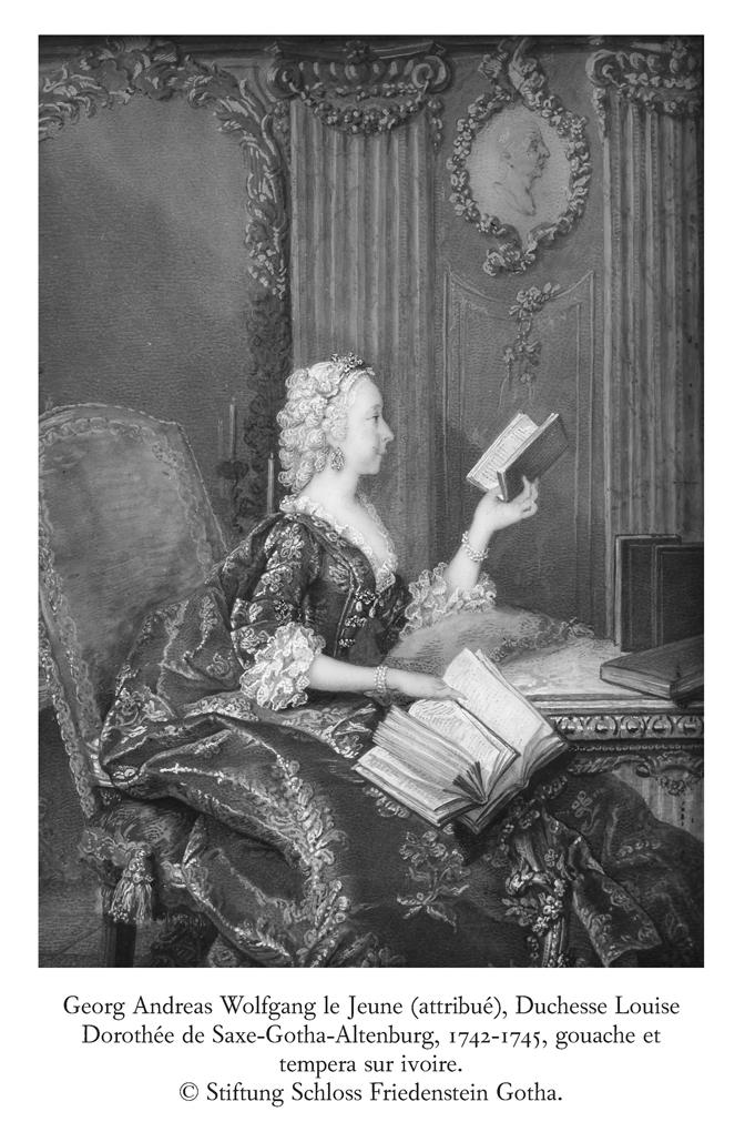 La Duchesse de Saxe-Gotha-Altenburg