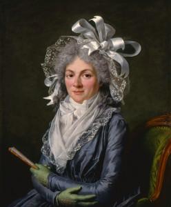 Portrait of Madame de Genlis by Adelaide Labille-Guiard