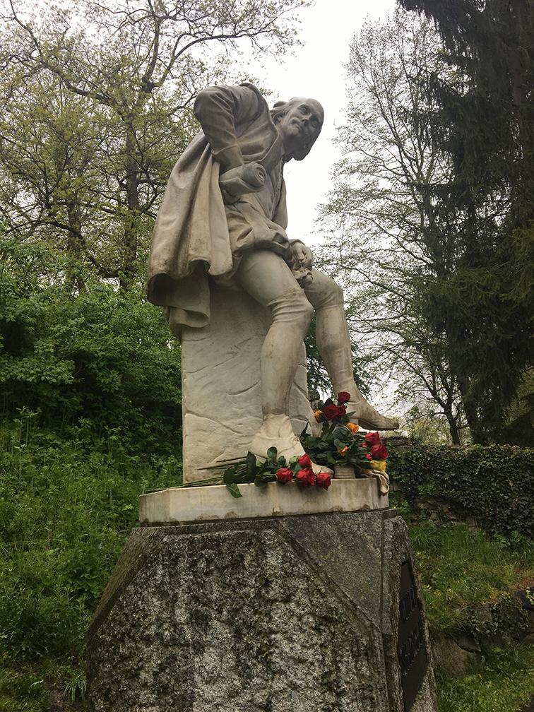 Shakespeare Denkmal by Otto Lessing