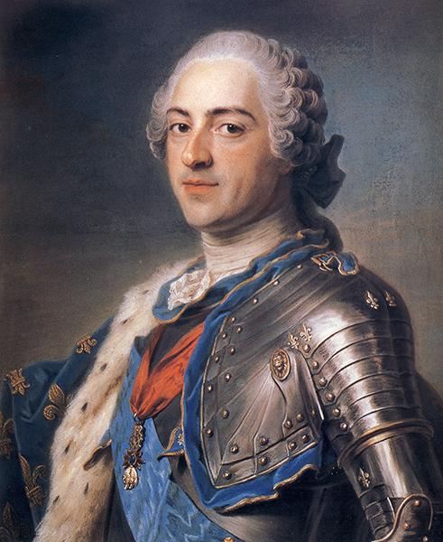 Louis XV, by Maurice-Quentin de La Tour