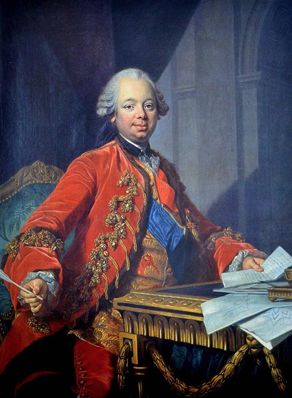Etienne-François, duc de Choiseul, by Louis-Michel van Loo