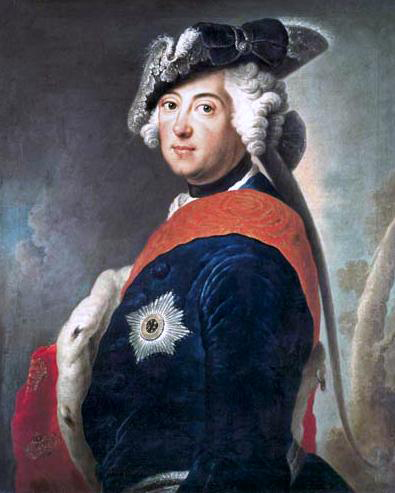 Frederick the Great, by Antoine Pesne