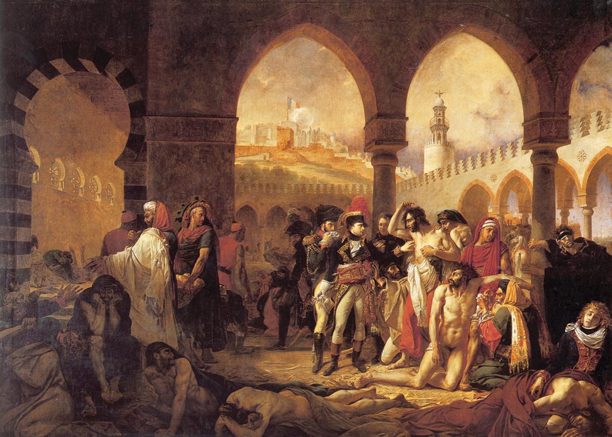 Bonaparte Visiting the Pesthouse in Jaffa