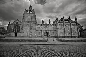 King's College, University of Aberdeen. Taken by Nick in exilio and published on Flickr.