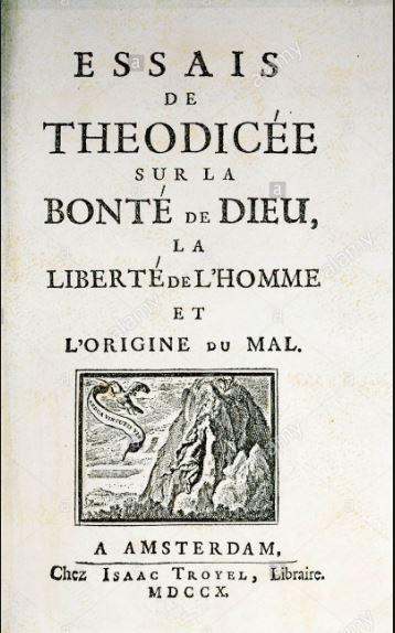 Title page of Essais de Theodicée, Amsterdam, 1710