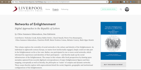 Manifold Scholarship platform
