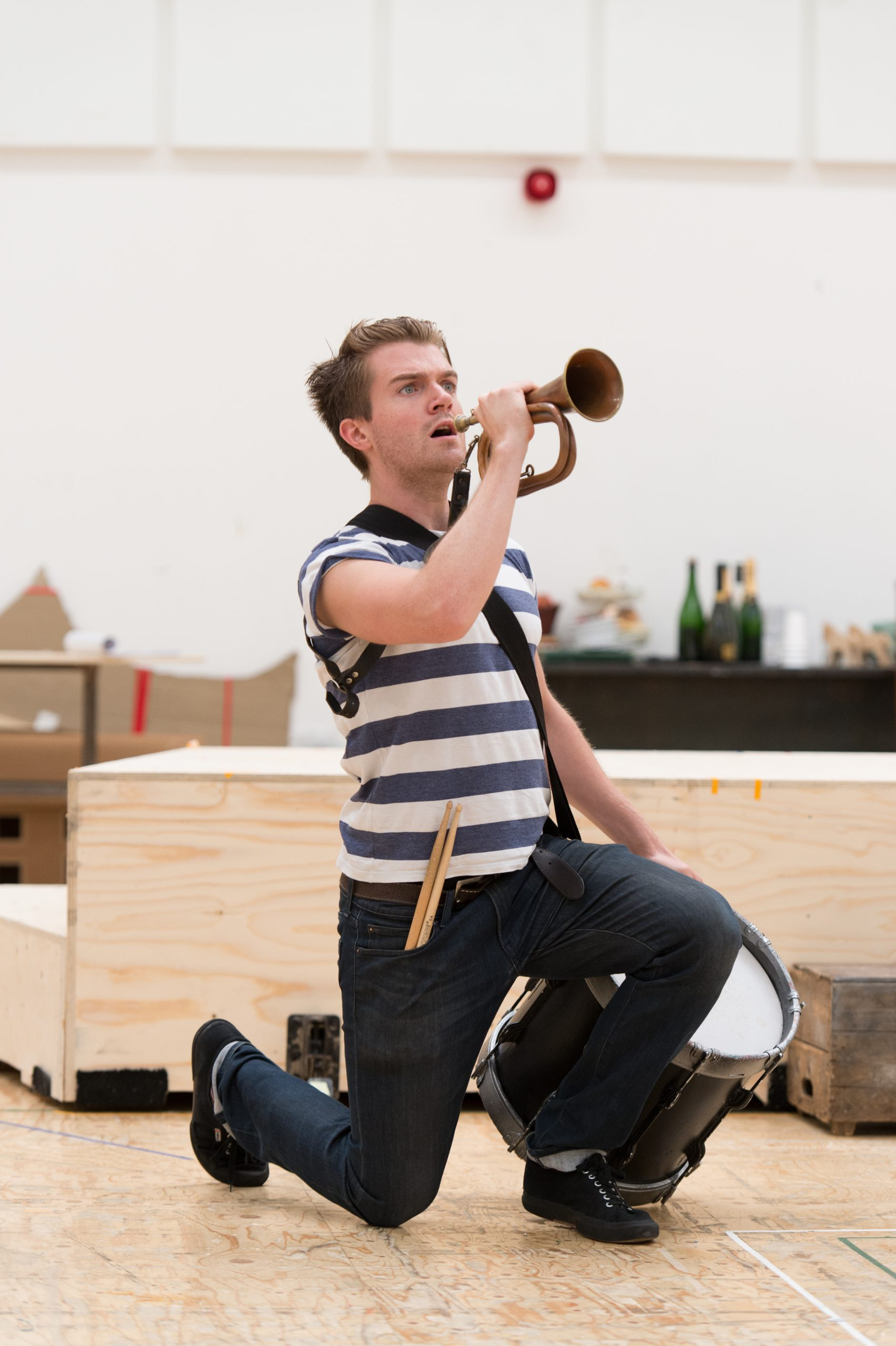 Candide in rehearsal