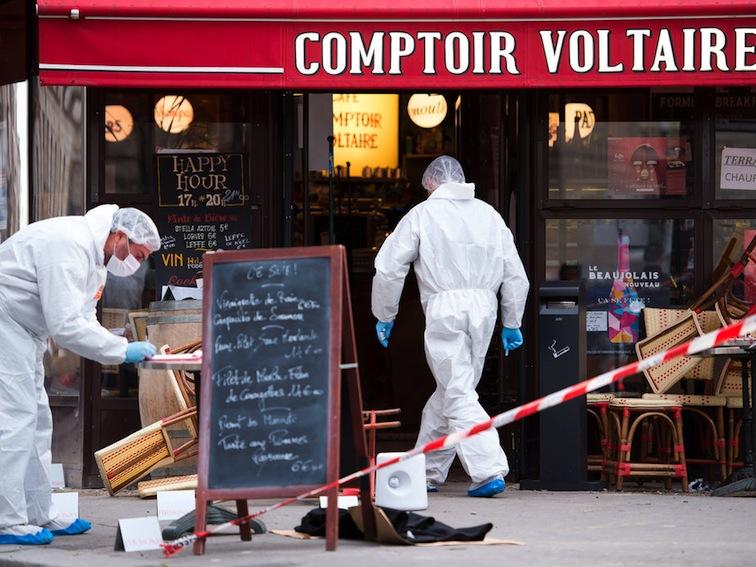 Paris, Boulevard Voltaire, 14 November 2015