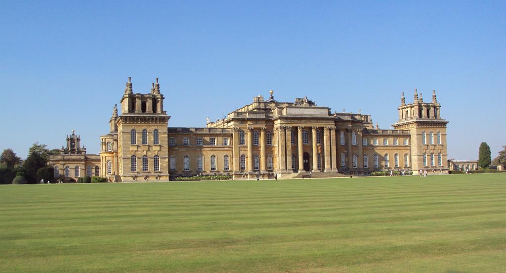 Blenheim Palace, southern aspect.