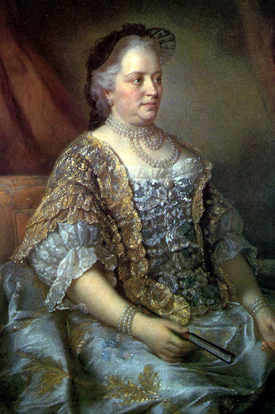 Maria Theresa, by Jean-Étienne Liotard, 1762.