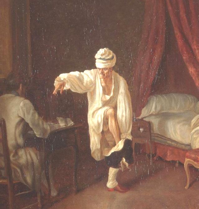Le lever de Voltaire