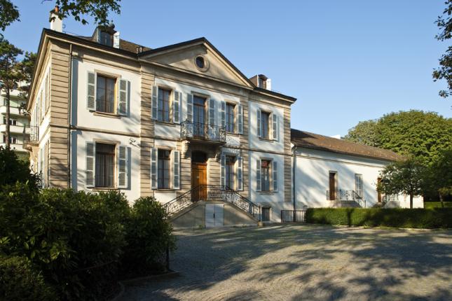 Institut et Musée Voltaire, photograph by Matthias Thomann