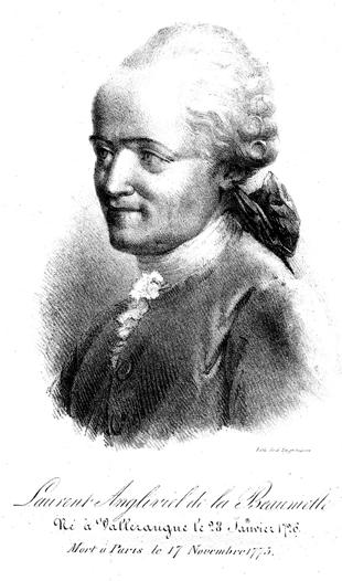 Laurent Angliviel de La Beaumelle, portrait by Engelmann