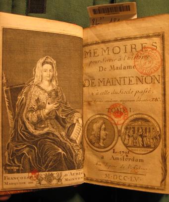 La Beaumelle title page