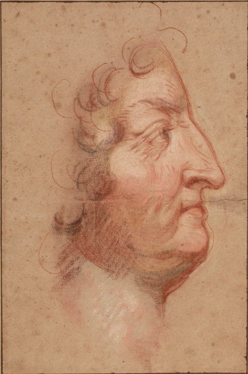 Portrait of Louis XIV by Benoist.
