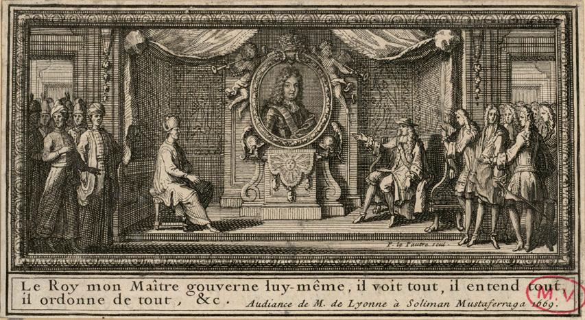 Painting by Pierre Le Pautre.