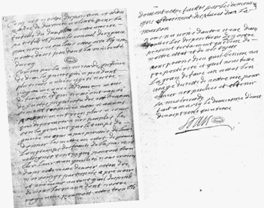 1. Louis XIV's will, dated 2nd August 1714.