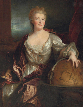 La marquise Du Châtelet, by Nicolas de Largillière