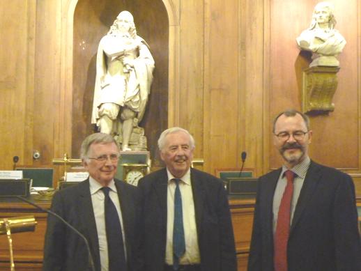 At the Prix de la Fondation Edouard Bonnefous prize-giving ceremony, 2 December 2013.