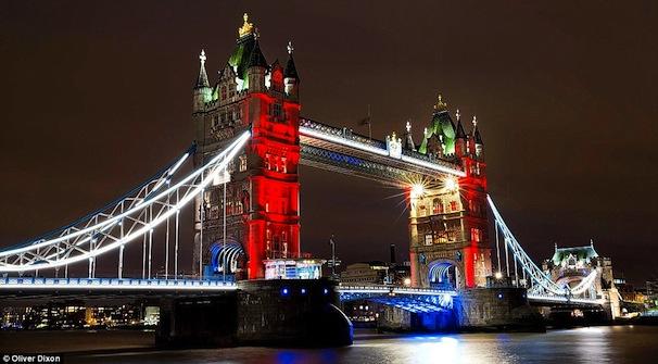 London, Tower Bridge, 14 November 2015