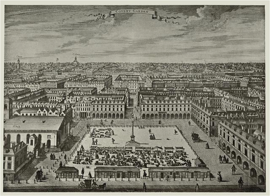 From Bowles, London Described or the most noted Regular Buildings, 1731.