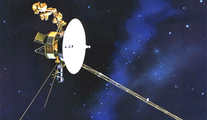 The Voyager 1 space probe (NASA)