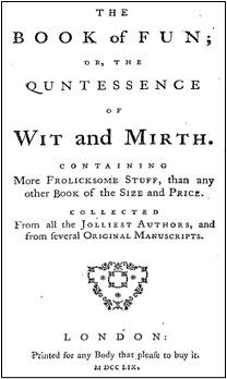 The Book of Fun