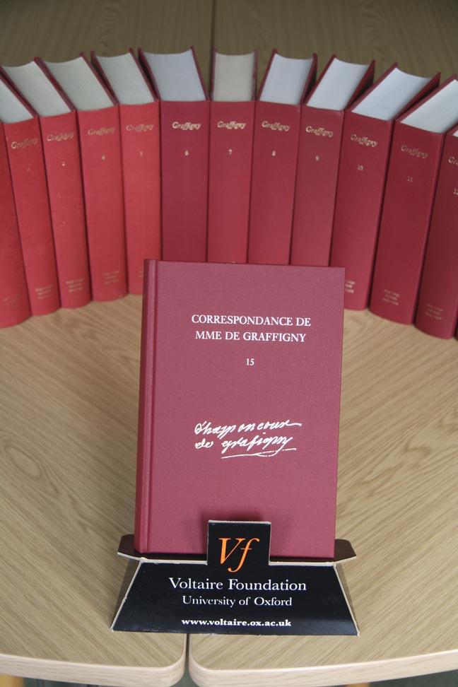 La Correspondance de Mme de Graffigny, 15 vol.