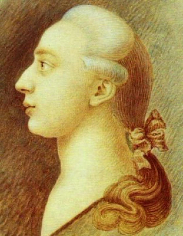 Giacomo Casanova, by his brother Francisco Giuseppe Casanova, 1750-1755